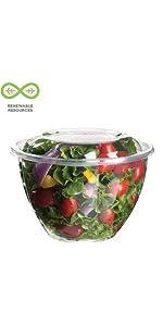 Comida para llevar compostable