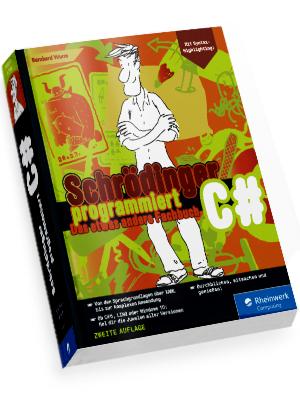 Schrödinger programmiert Fachbuch Rheinwerk Verlag Galileo Computing Programmierung C#