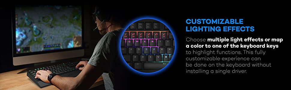 Mechanical Backlit Keyboard