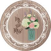 Wedding Plates paper ...  sc 1 st  Amazon.com & Amazon.com: Creative Converting 428706 Sturdy Style Banquet Plate ...