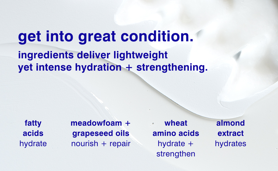 get into great condition.