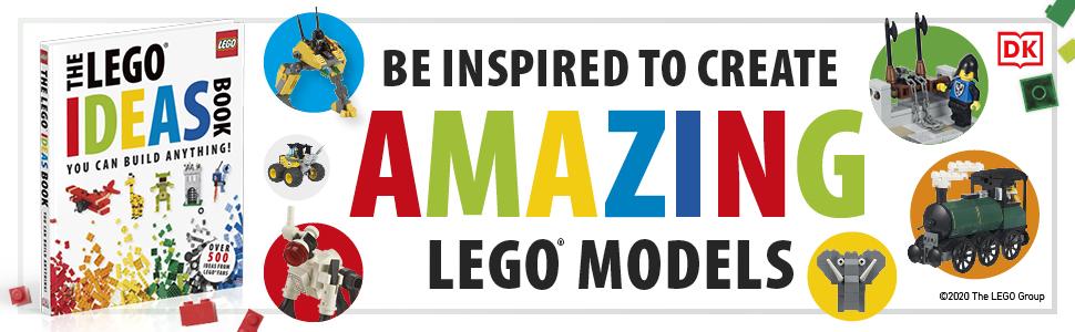 Be inspired to create amazing LEGO models