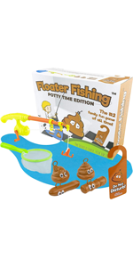 Fishing for Floaters: Potty Time Edition Game Set