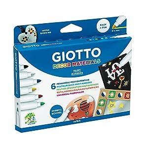 Giotto Decor Materials - Pack 48 rotuladores decorativos ...