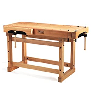 Sjobergs 33246 1500 Elite Woodworkers Beech Workbench With Two Large Vices And Endless Options Amazon Com