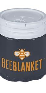 bucket heater, bucket heating blanket, 5 gallon bucket heater, pail heaters, pail warming blanket
