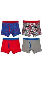 boys boxer briefs underwear comfortable cotton fun colorful design
