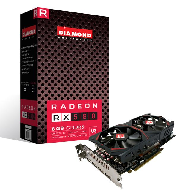 Amazon.com: Diamond AMD Radeon RX 580 8 GB de memoria GDDR5 ...