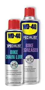 WD-40 Bike Maintenance Bundle, Bike Degreaser and Bike Lubricant