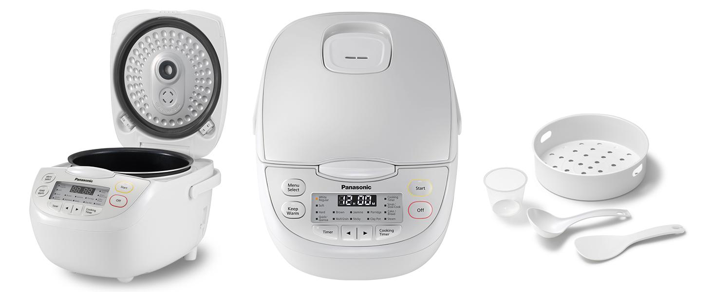 Panasonic SR-CN108 rice cooker, multi-cooker