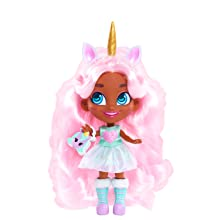 hairdorables, youtube show, willow, unicorn, pink hair, collectible doll, fairy tales