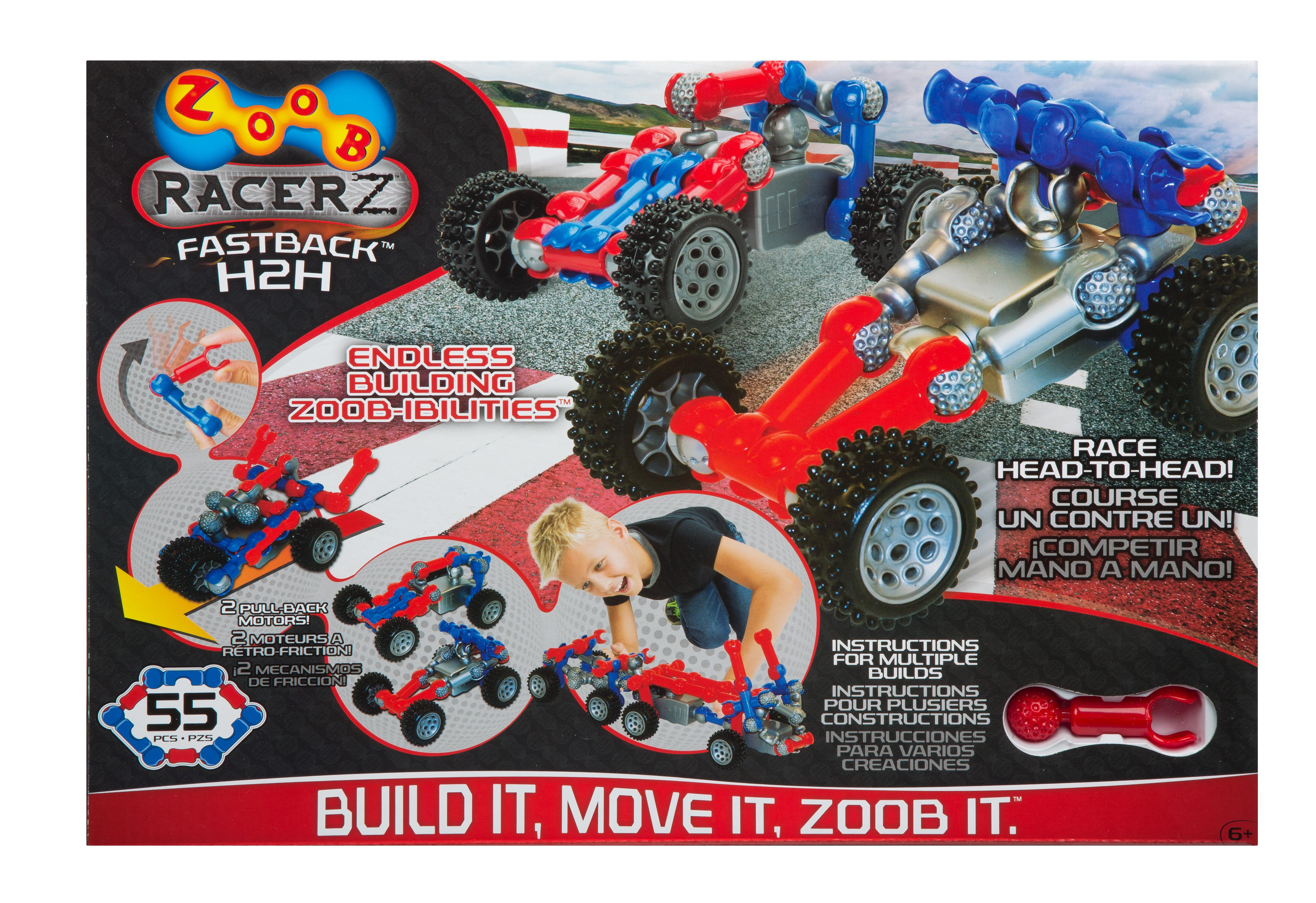 Amazon Com Zoob Racerz Fastback H2h Toys Games