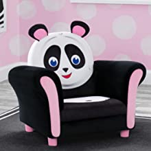 kids chair seat toddler panda bear playroom play room furniture girls boys animal delta children