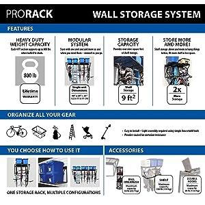 Amazon Com Proslat 60001 Prorack Heavy Duty Wall Mount