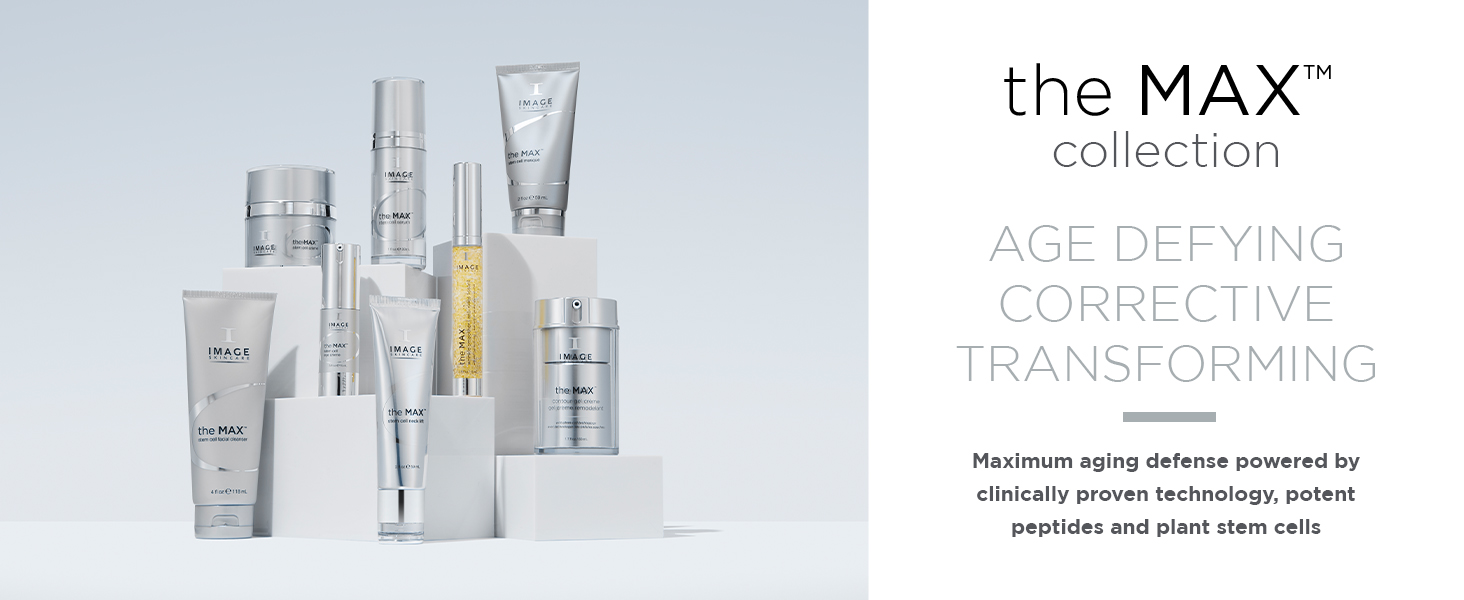 the max skin care collection