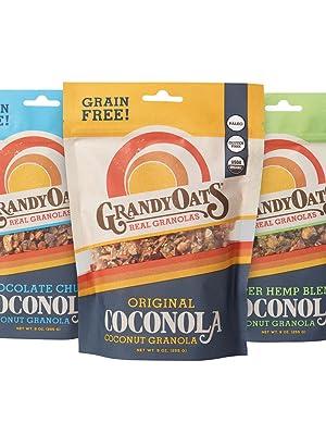 Coconola Gluten Free Grain Free Granola