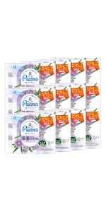エリエール Puana(ピュアナ)ウエットティシュー 除菌99.99%アルコールタイプ つめかえ用42枚×3P 【ケース販売】