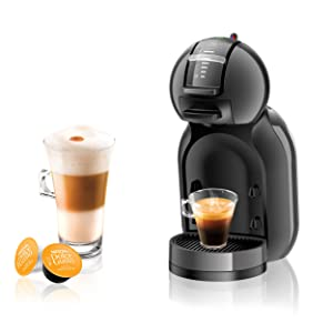 NESCAFE DOLCE GUSTO COFFEE, COFFEE MACHINE, CAPSULES, ESPRESSO, POD, anthracite