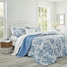 blue quilt;cotton quilt set;blue bedding;queen bedding;king bedding;cotton bedding;blue quilt,king