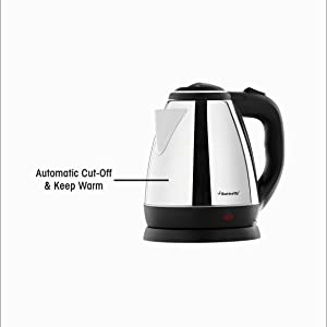 Automatic Cut Off & Keep Warm