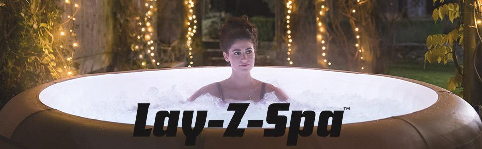 Inflatable hot tub lay z spa paris