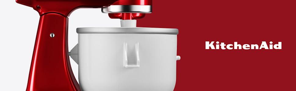 Sorbetière KitchenAid pour robot pâtissier multifonction KitchenAid 4,3 L et 4,8 L