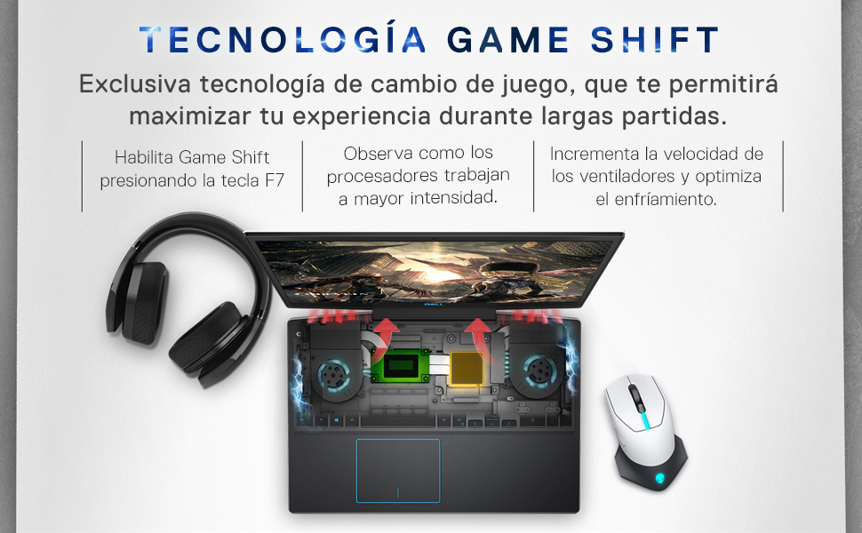 Tecnología Game Shift
