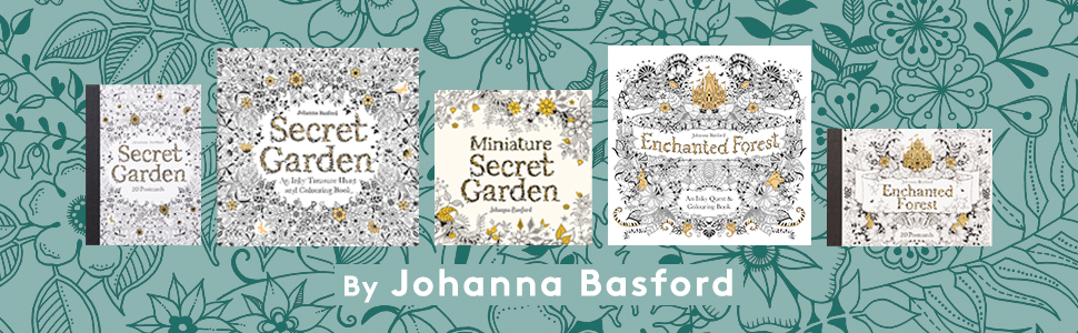 - Miniature Secret Garden: A Pocket-sized Adventure Coloring Book: Basford,  Johanna: 9781786277701: Amazon.com: Books