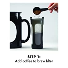 Add Coffee to brew filter