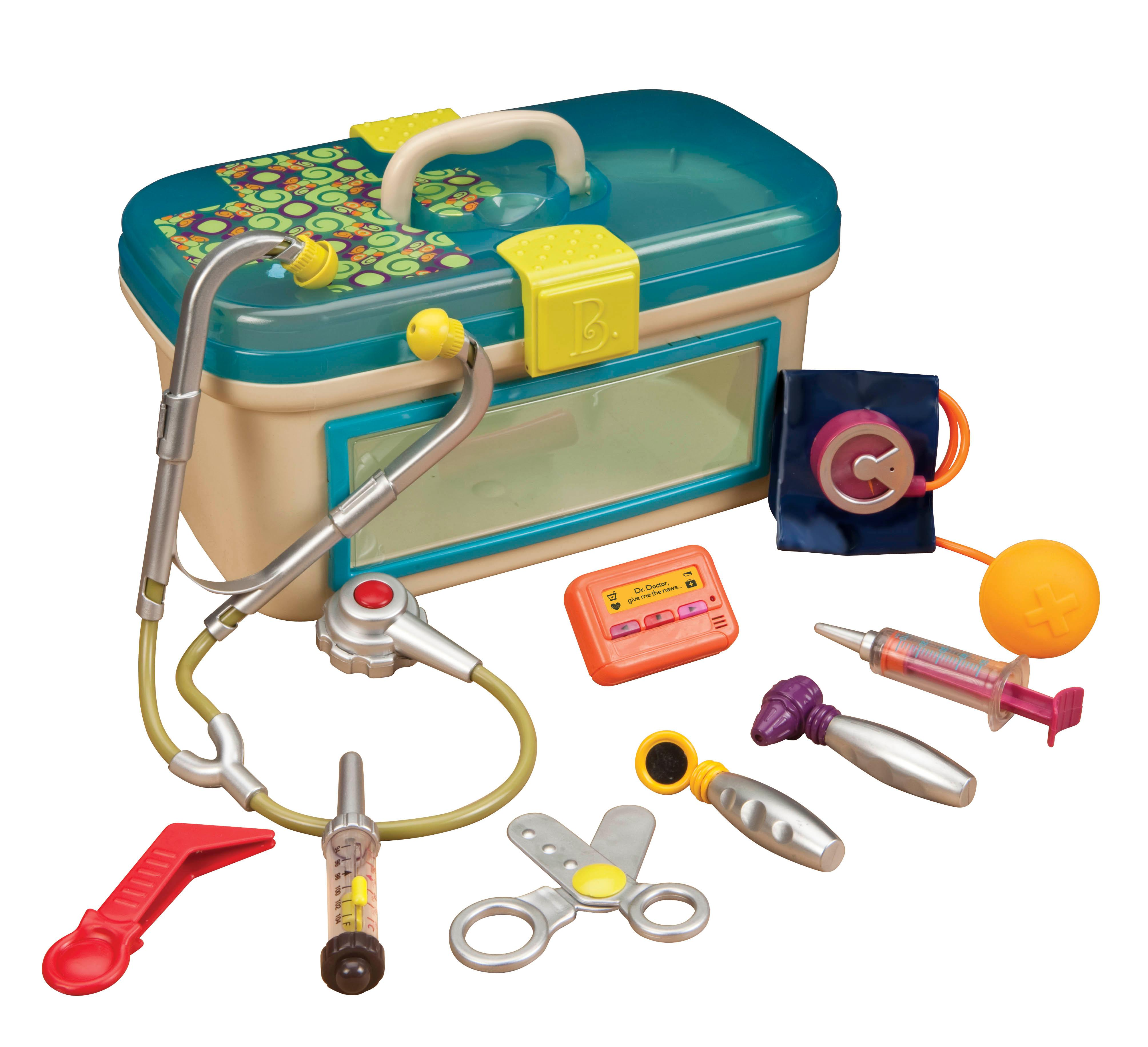 Toy Medical Kit : Amazon b dr doctor toy medical kit for kids pretend