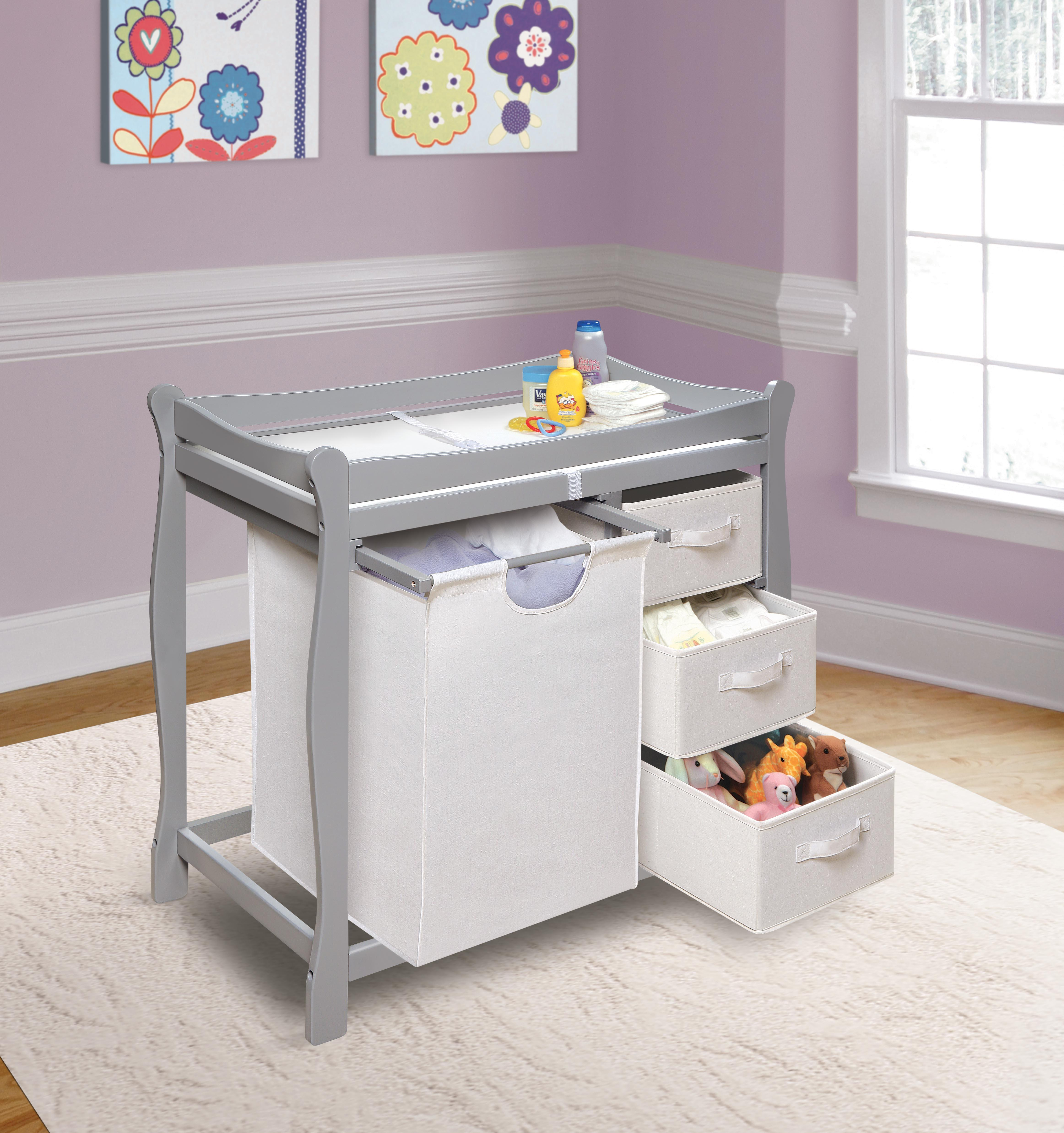 diaper best changing design ideas baby desk table awesome of stuva ikea