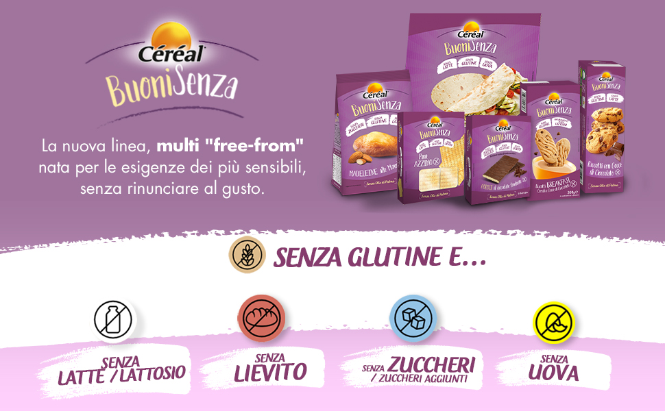Linea free-from Céréal buoni senza