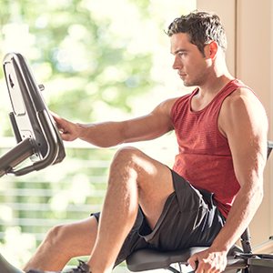 Recumbent bike recumbnet bike 270 cardio fitness workout exercise schiwnn schwinn shwinn display