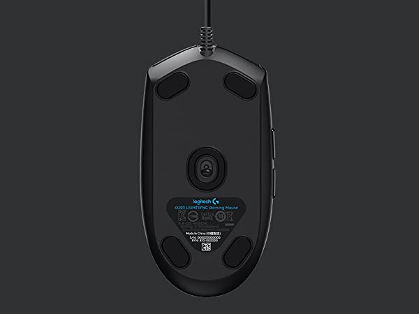 Gaming-Grade 8,000 dpi sensor