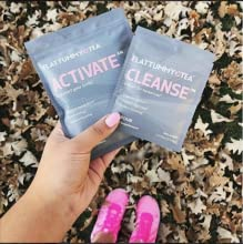 flat tummy tea cleanse and detox activate
