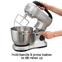 tilt head stand mixer cuisinart