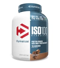 iso100 whey isolate protein powder chocolate