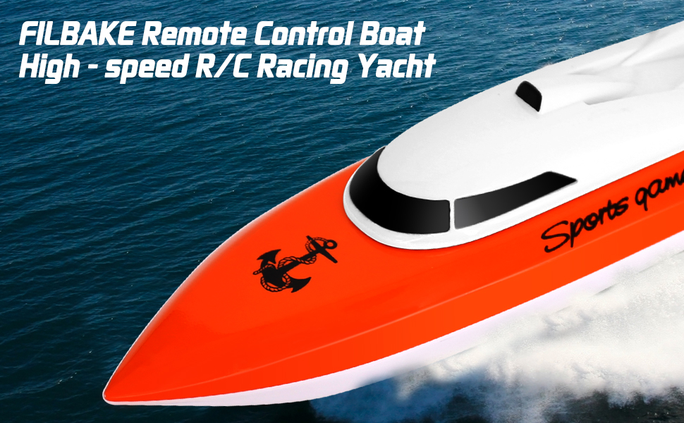 2.4GHz RC Boat for Indoor /& Outdoor Pool /& Lakes High Speed Remote Boat 180 Degree Auto Flip Recovery,Electric RC Boat Toys S Remote Control Boat Best Gifts for Adults /& Kids /& Boys /& Girls