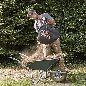 Compostering wordt door gehakselde bladeren gemakkelijk en sneller.
