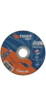 Tiger Zirc Cutting Wheels