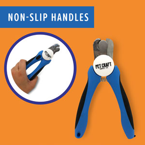 Non-Slip HandlesNo worries about these trimmers slipping out of your hand. They offer an ergonom
