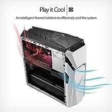 ASUS ROG STRIX GD30 Gaming Desktop, NV GeForce GTX 1060 6GB