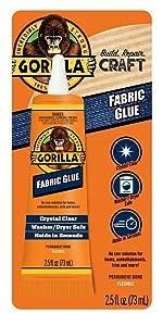 Gorilla Fabric Glue Contact Adhesive