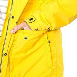 Trespass Womens Garner Outdoor Hooded Waterproof Parka Down Jacket Coat