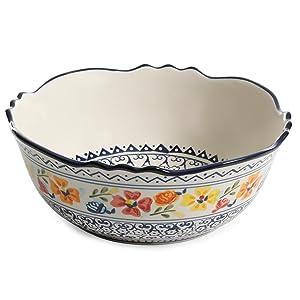 gibson elite serving bowls
