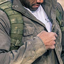 rugged atmosphere water resistent ykk zipper resistant dirt dirty protection protect