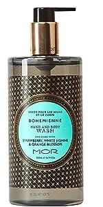 bohemienne;body;skincare;wash;cleanser;mor;emporiumclassics