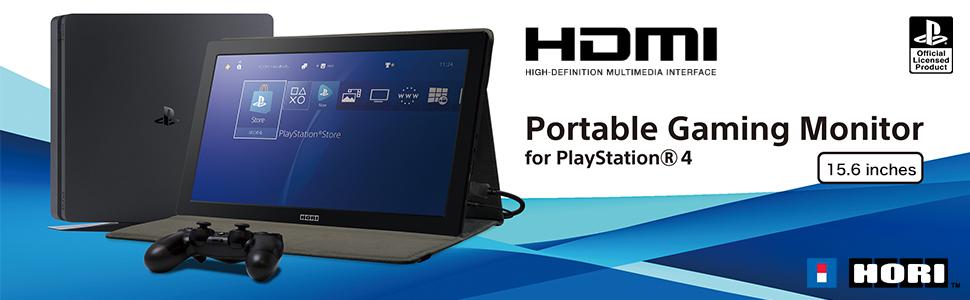 Hori - Monitor Gaming HD (PS4): Amazon.es: Videojuegos