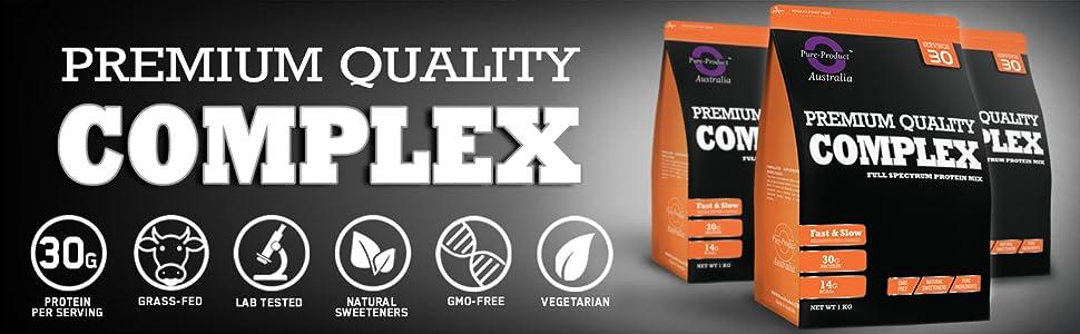 protein blend, complex protein, mix of profein, casein, protein, whey powder, optimum nutrition