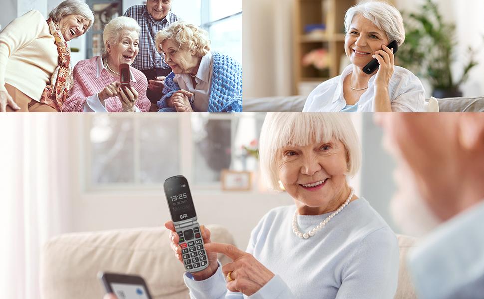 senior flip phone